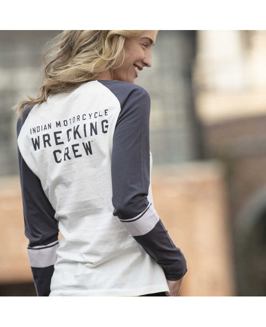 Indian Ladies Wrecking Crew LS Tee