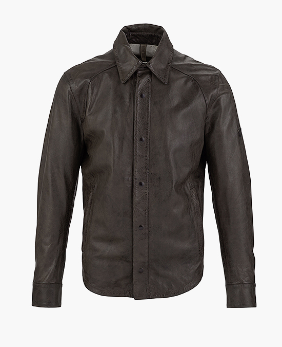 Matchless Banner Shirt Jacket Man