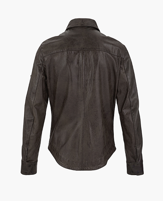 Matchless Banner Shirt Jacket Man/Рубашка мужская кожаная