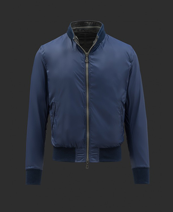 Matchless Reversible Bomber with Hood