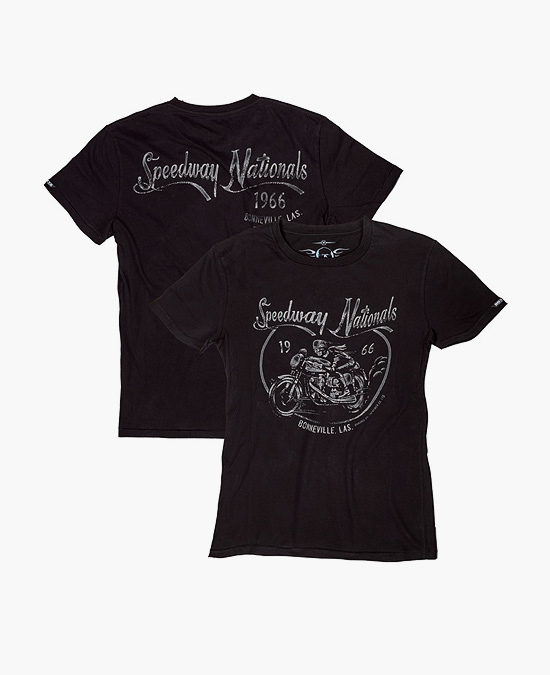 ROKKER Speedway Nationals T-shirt/футболка мужская
