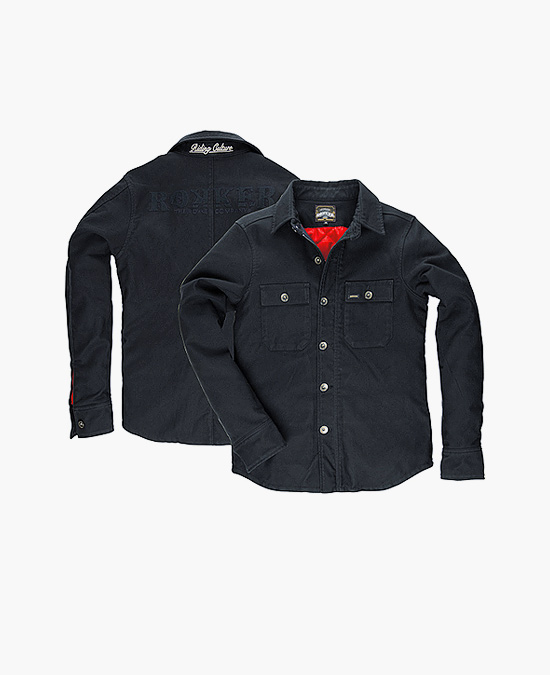 ROKKER Black Jack Rider Shirt warm/рубашка мужская