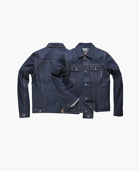 ROKKER Denim Jacket Raw/куртка джинсовая