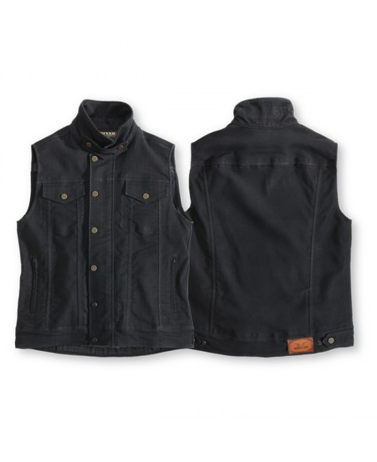 ROKKER Black Jack Vest/жилет джинсовый