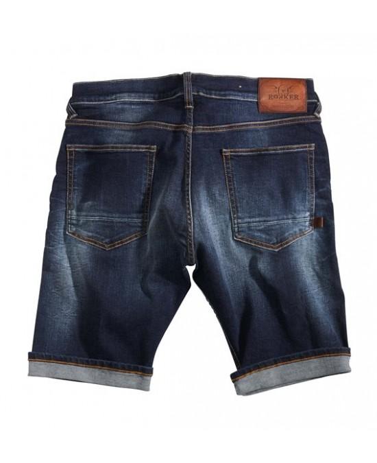 ROKKER Denim Shorts Washed