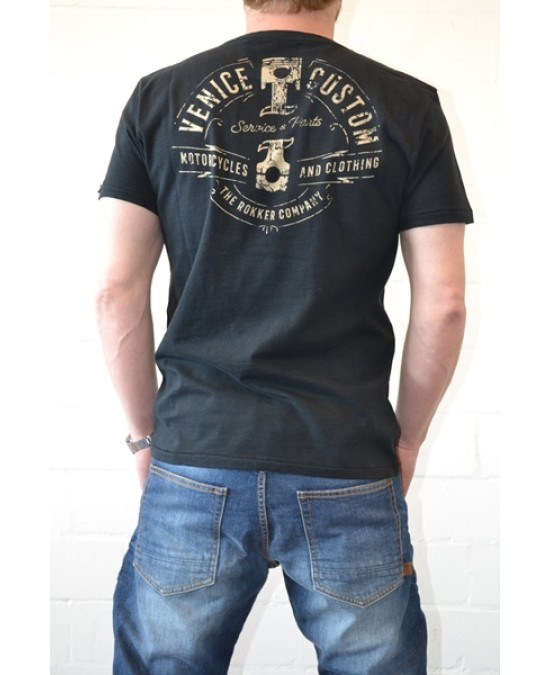 ROKKER Venice Custom T-shirt/футболка мужская
