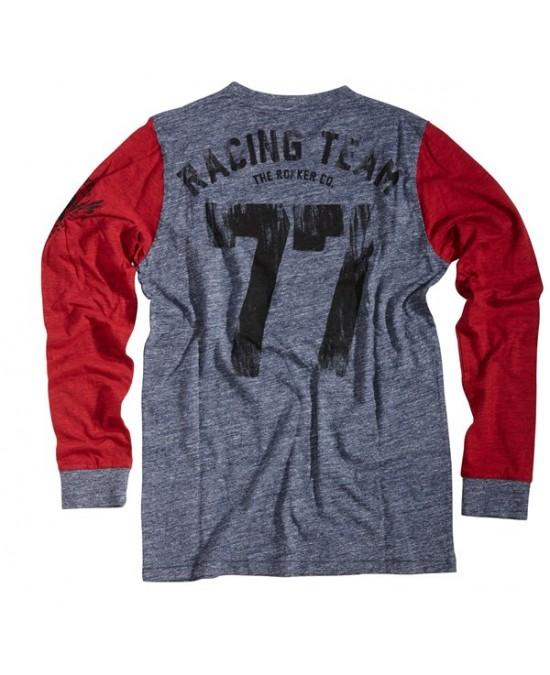 ROKKER Team 77 L/S T-shirt/футболка мужская