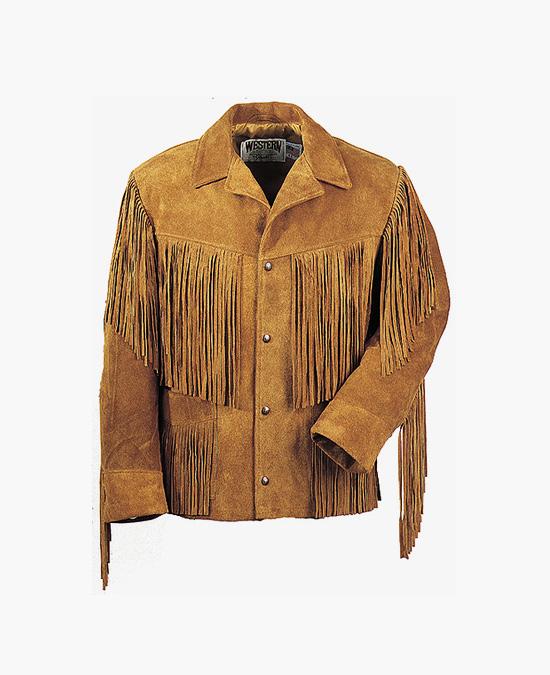 Schott Western Fringe Leather Jacket