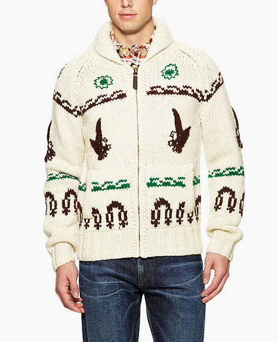 Schott Wool Hunting Lodge Sweater