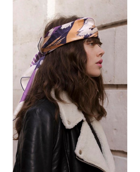 Unscarf Amazon Warrior silk scarf