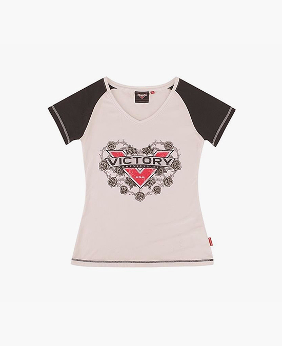 Victory Women Silver Roses Tee