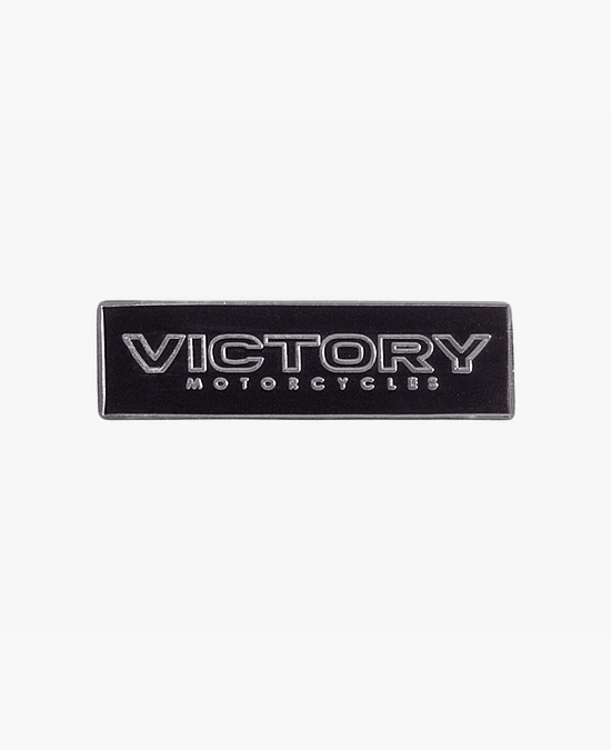 Victory Logo Pin Badge
