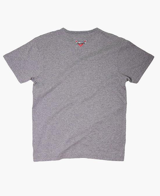 Victory Logo T-shirt grey marl