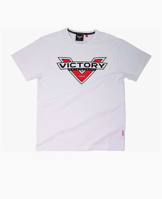 Victory Logo Color Badge T-shirt white/футболка