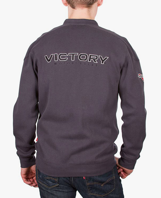 Victory Attitude Race Neck Zip Thru
