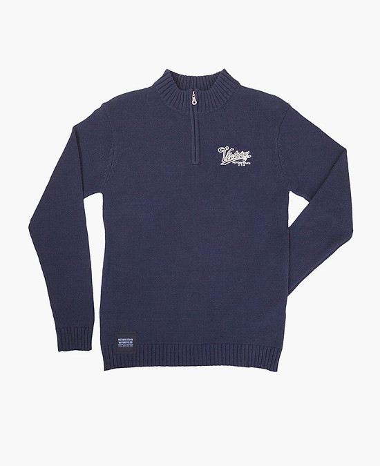 Victory Classic 1/4 Zip Knit