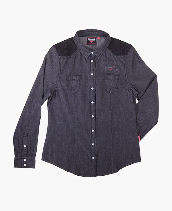 Victory Women Chambray Shirt/рубашка