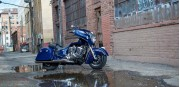 Indian Chieftain Blue