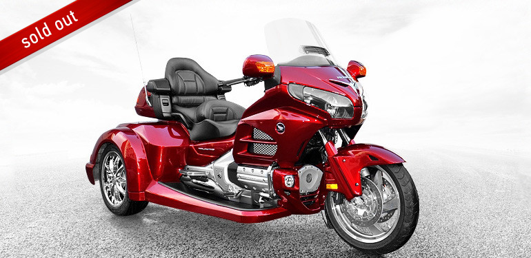 Roadsmith Honda Goldwing Trike GL 1800/A red