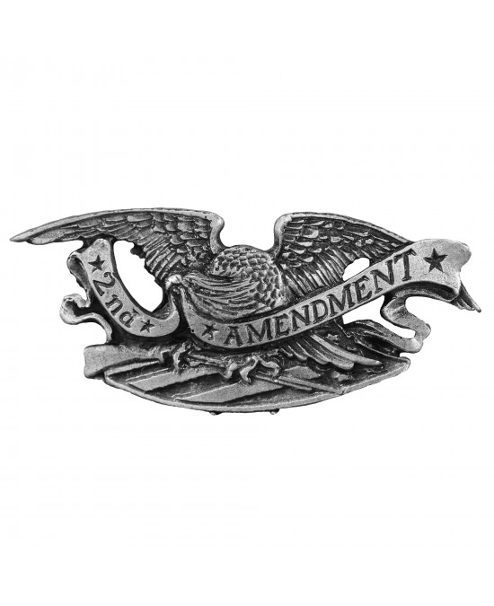 Hot Leathers Pin 2nd Amendment Eagle/значок PNA1290