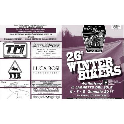Зимний слет байкеров Winter Bikers Faenza в Италии