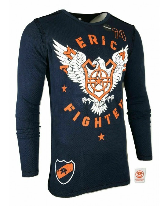 Affliction Athens L/S Rev. Thermal Tee/футболка мужская